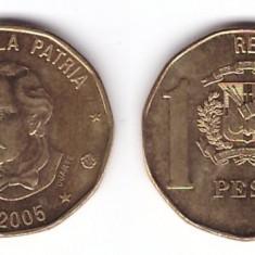 Republica Dominicana 2005 - 1 peso