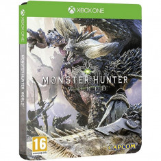 Monster Hunter World Steelbook Edition Xbox One - Jocuri Xbox One