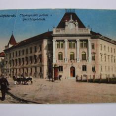 Carte postala Alba Iulia sau Gyulafehervar 1917 circulata - Carte Postala Transilvania 1904-1918, Printata