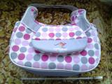 Bebesi / geanta carucior copii 43 x 40 x 14 cm