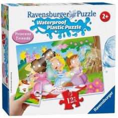 Puzzle Ravensburger Plastic Waterproof Princess (12 Pcs)