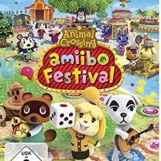 Animal Crossing Amiibo Festival Nintendo Wii U - Jocuri WII U