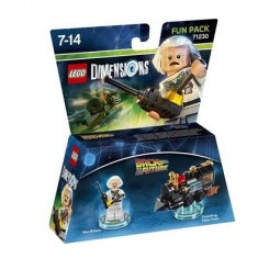 Lego Dimensions Fun Pack Back To The Future Doc Brown - LEGO Architecture
