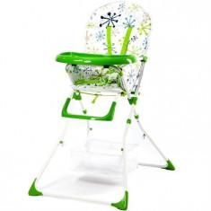 Scaun De Masa Pentru Copii Niami Mamakids Verde Cu Floricele - Masuta/scaun copii