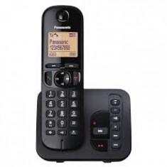 Telefon DECT, negru, Panasonic - Telefon fix