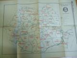 Romania harta administrativa 17 februarie 1968 Scanteia