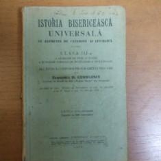 Istoria bisericeasca universala catehism liturgica Bucuresti 1932 D. Georgescu