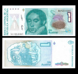 Argentina 1986-89 - 1 austral UNC