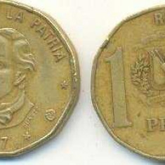 Republica Dominicana 1997 - 1 peso