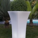 Dandy - vaza luminoasa alba 85