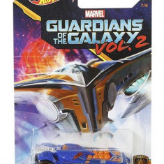 Masinuta Hot Wheels Car Marvel Guardians Of The Galaxy Vol.2 Rocketfire Mattel