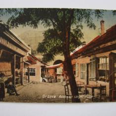 Carte postala circulata ADA-KALEH Bazar, anii 1910, Ada Kaleh, Printata