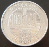 Moneda 1000 Lei - ROMÂNIA, anul 2004 *cod 2395 ALLU