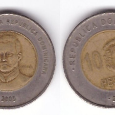 Republica Dominicana 2005 - 10 pesos