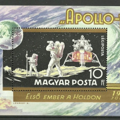 Ungaria 1969 - Apollo 11, colita neuzata