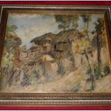 L.A. Biju, Grajduri la Singureni/Vlasca, 1937 + catalog GoldArt / 2009, Peisaje, Ulei, Altul