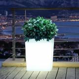 Diny - vaza luminoasa alba 70