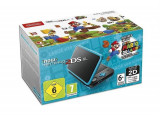 Consola New Nintendo 2Ds Xl Console Black & Turquoise + Super Mario 3D Land