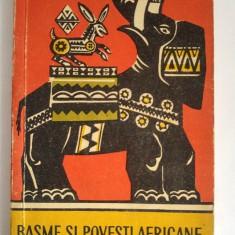 BASME SI POVESTI AFRICANE - GISELE VALLEREY, 142 PAG, Editura Tineretului 1961