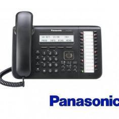 Telefon proprietar IP Panasonic Alb/Negru II - Telefon fix