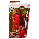 Figurina WWE Brodus Clay Elite 18, 18 cm, Mattel