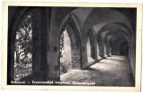Cluj interior biserica Franciscanilor,Kolozsvar Ferencrendiek temploma folyoso, Necirculata, Printata, Cluj Napoca