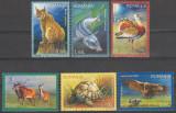 2009 - Fauna protejata, serie stampilata