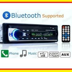 Casetofon Auto Bluetooth 4X 60 W USB MP3 Radio Telefon - CD Player MP3 auto