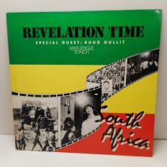 Revelation Time - South Africa 1988, disc vinil Maxi Single reggae - Muzica Reggae