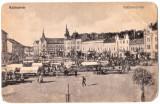 Cluj piata veche,actuala Mihai Viteazul prin 1910 Kolozsvar Szecsenyi-ter, Cluj Napoca, Necirculata, Printata