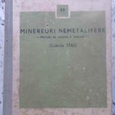 Minereuri Nemetalifere Metode De Analiza Si Incercari (colect - Colectiv, 412874 - Carti Constructii