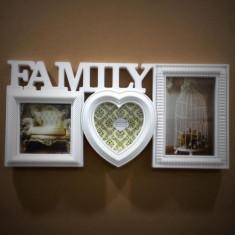 Rama foto colaj Family alb