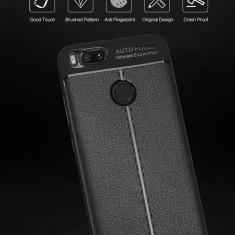 Husa Xiaomi Mi 5X A1 silicon design piele business calitativa 2018, Alt model telefon Huawei, Roz