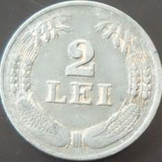 Moneda ISTORICA 2 LEI - ROMANIA, anul 1941 *cod 2500 - Zinc!
