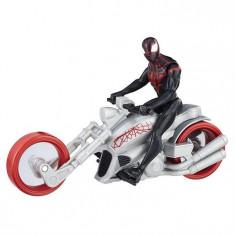 Jucarie Hasbro Spiderman Kid Arachnid With Web Chopper 15Cm - Vehicul