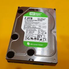 136S.HDD Hard Disk Desktop, 2TB, Western Digital, 64MB, Sata II, Peste 2TB, Rotatii: 5400, SATA2