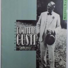 DIMITRIE GUSTI 1880 - 1955 IN MEMORIAM
