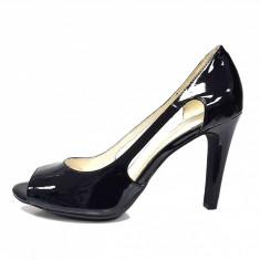 Pantofi dama, din piele naturala, marca Geox, culoare negru, marimea 37 - Pantof dama