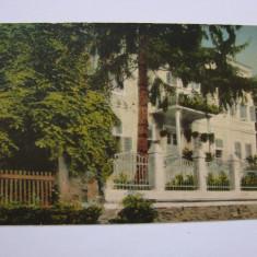 Carte postala - Baile Herculane - Vila Romee 1925, Circulata, Printata