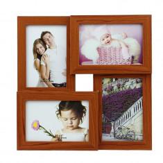 Rama foto multipla Felicity, 4 poze, 10x15 cm, fixare perete