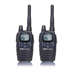 Resigilat : Statie radio PMR/LPD portabila Midland G7 PRO set cu 2 buc Cod C1090