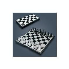 Sah magnetic cu table si dame 3 in 1 - Joc colectie