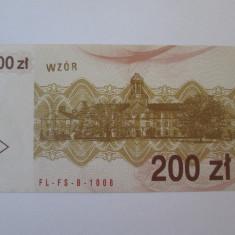 Polonia voucher 200 Zloti/Zlotych 1990