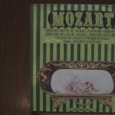 MOZART - Serenadele Nr. 6 (KV 239) & Nr. 9 (KV 320) Viena - Disc pick-up vinil - Muzica Clasica Melodia