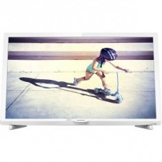Televizor LED Philips 24PFS4032/12 Seria PFS4032/12 60cm alb Full HD, 61 cm, Smart TV