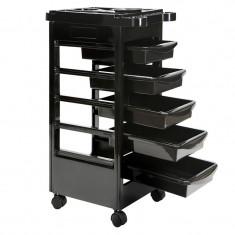 Ucenic cosmetic cu 5 sertare UM2, negru