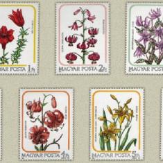 Ungaria 1985 - crin, flori, serie neuzata - Timbre straine