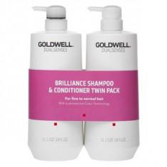 Goldwell Dualsenses Color Brilliance Duo set pentru păr vopsit 2 x 1000 ml