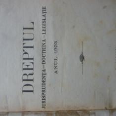 Revista Dreptul, anul LI, 1923 - Carte Drept procesual civil