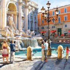 Puzzle Castorland - 3000 de piese - Macneil : The Trevi Fountain